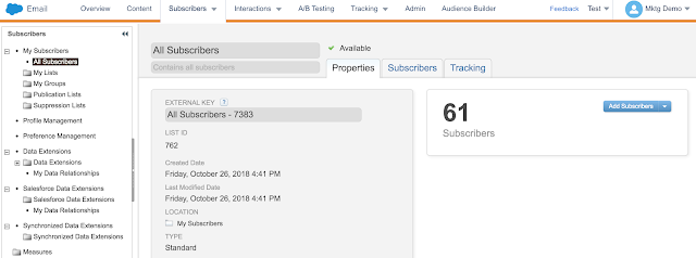 All Subscriber List in Marketing cloud