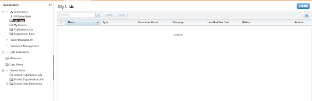 Using Lists vs Data Extension in Marketing Cloud